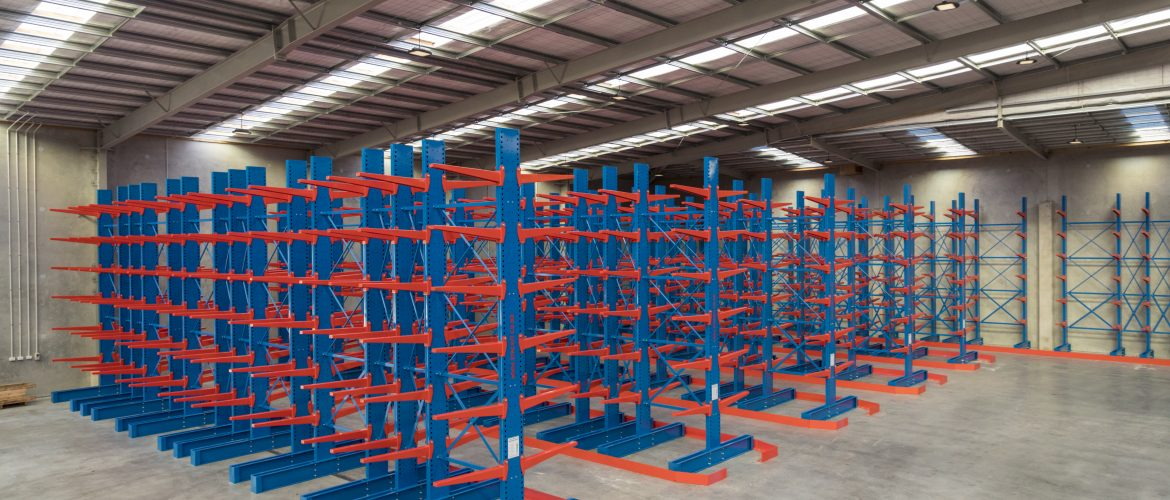 STACK-iT H/duty cantilever - Steel and Tube CHCH
