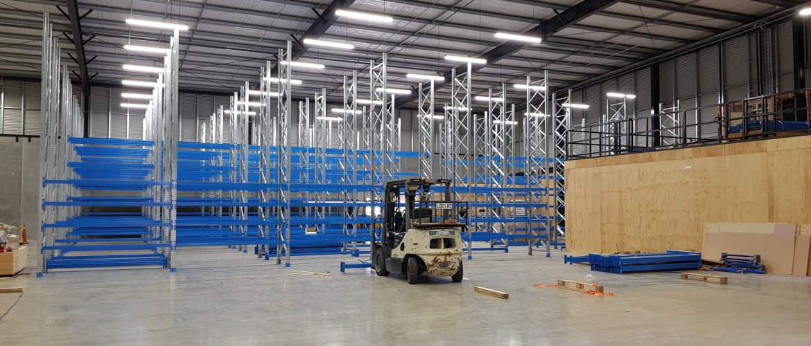STACK-iT 6000 series pallet racking at TMC