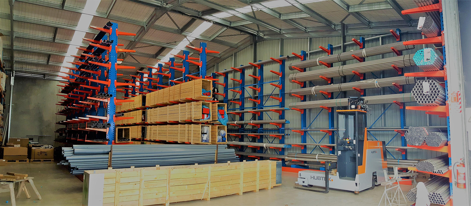Waterworks Cantilever Racking