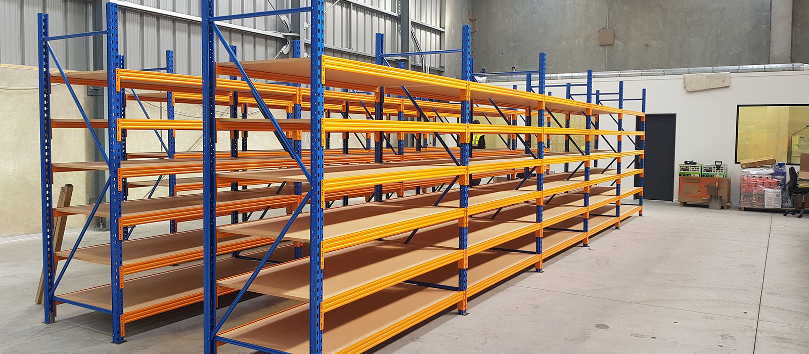 BNT Store Fitout, Industrial Shelving, STACK-iT Series Shelving, Picking Shelves, Parts Storage