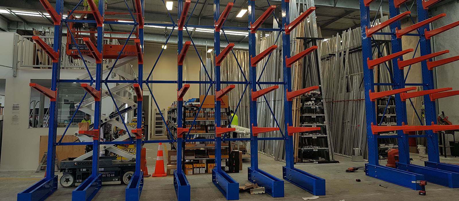 Ullrich New Plymouth, Cantilever Racking, Sheetmetal Storage, Alloy Storage