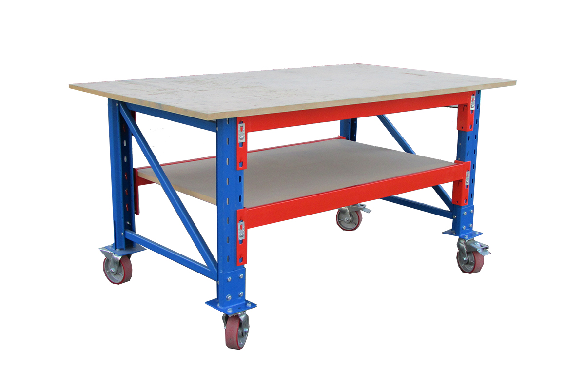 Heavy Duty Pallet Racking Mobile Workbench Product Page