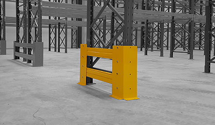Pallet Racking Accessories Single Bay End Protector